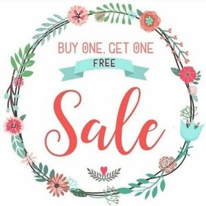 EVERYTHING in my closet is BOGO FREE!!!